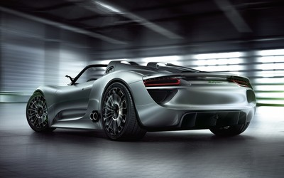 Porsche 918 Spyder wallpaper