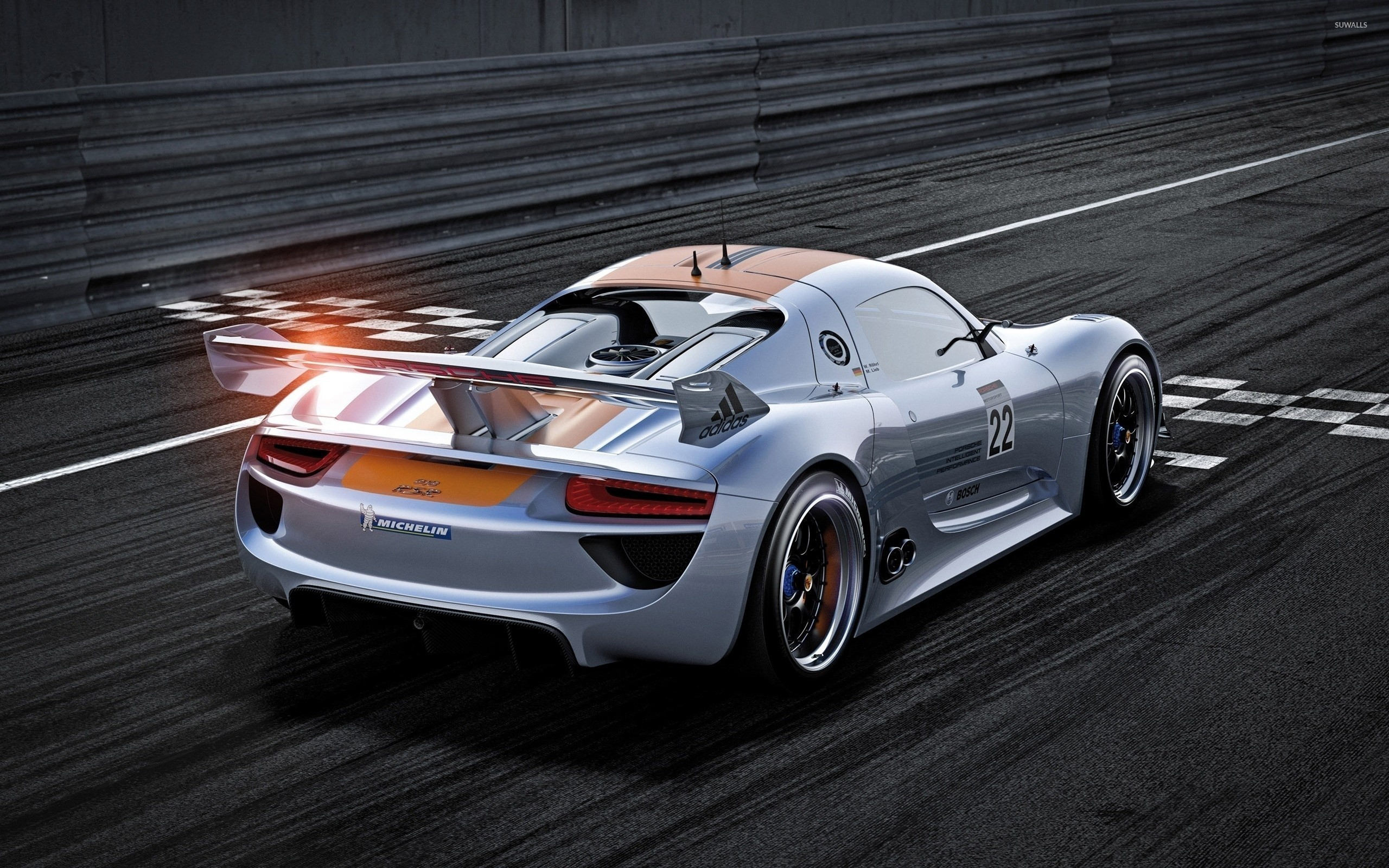 porsche 918 spyder [3] wallpaper - car wallpapers - #43814