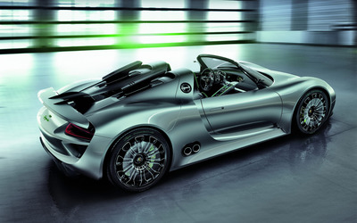 Porsche 918 Spyder Concept [2] wallpaper