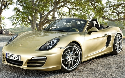 Porsche Boxster wallpaper