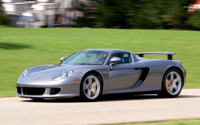 Porsche Carrera GT [5] wallpaper