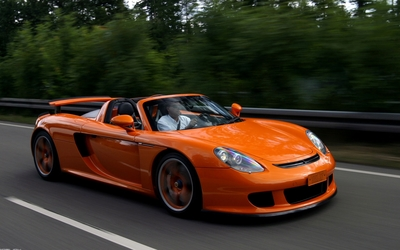 Porsche Carrera GT [3] wallpaper
