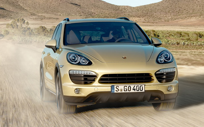 Porsche Cayenne [4] wallpaper