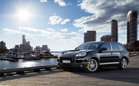 Porsche Cayenne Turbo S wallpaper 1920x1200 jpg