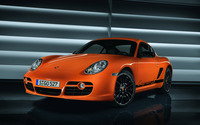 Porsche Cayman S wallpaper 2880x1800 jpg