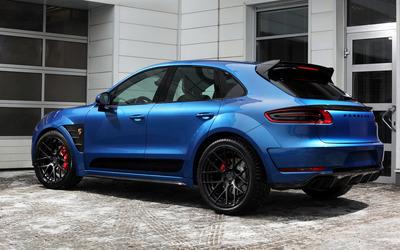 Porsche Macan wallpaper