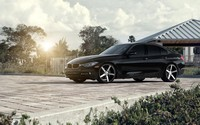 Prestigios black BMW 3 Series wallpaper 2880x1800 jpg