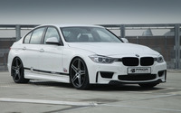 Prior Design BMW 3 Series front side view wallpaper 1920x1200 jpg