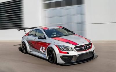 Racing AMG Mercedes-Benz CLA-Class wallpaper