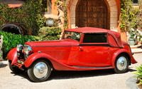 Red classic car wallpaper 1920x1200 jpg