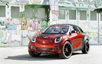 Red Smart Forstars wallpaper 1920x1200 jpg