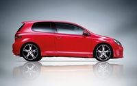 Red Volkswagen Golf Mk6 side view wallpaper 1920x1200 jpg