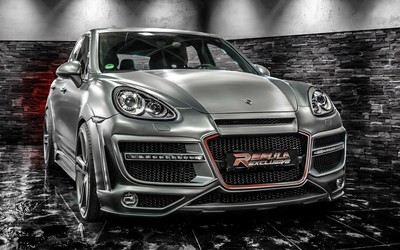 Regula-Exclusive Porsche Cayenne wallpaper