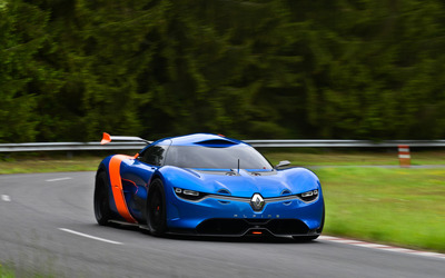 Renault Alpine  A110-50 Concept wallpaper