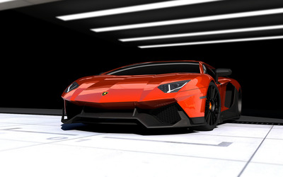 RENM Lamborghini  Aventador Limited Edition Corsa wallpaper