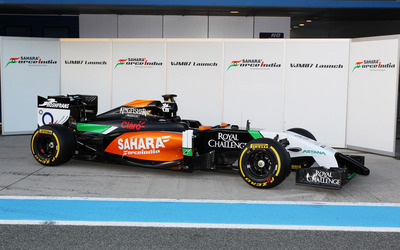 Sahara Force India [2] wallpaper