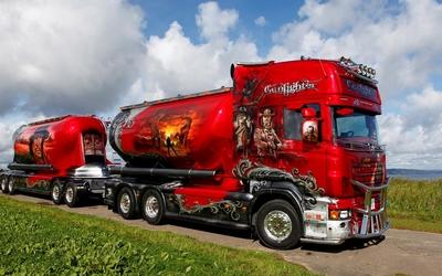 Scania R620 wallpaper