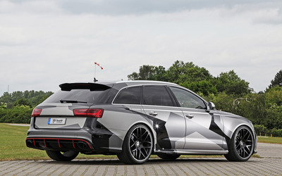 Schmidt Audi RS 6 quattro back side view wallpaper