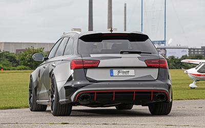 Schmidt Audi RS 6 quattro parked wallpaper