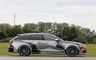 Schmidt Audi RS 6 quattro side view wallpaper