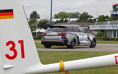 Schmidt Audi RS 6 quattro view from far wallpaper