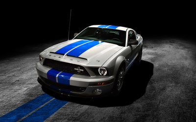 Shelby Mustang GT500KR front side view wallpaper