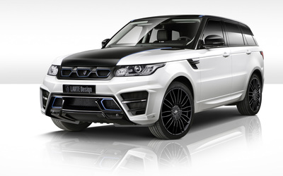 Side view Larte Design Land Rover Range Rover Sport wallpaper