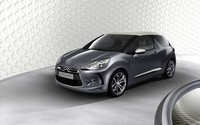 Silver Citroen DS3 front side view wallpaper 1920x1200 jpg
