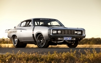Silver Faraone Engine Chrysler Valiant Charger R/T wallpaper 2560x1600 jpg