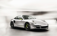 Silver Porsche 918 Spyder front side view wallpaper 1920x1200 jpg