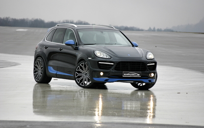 SpeedART Porsche Cayenne wallpaper