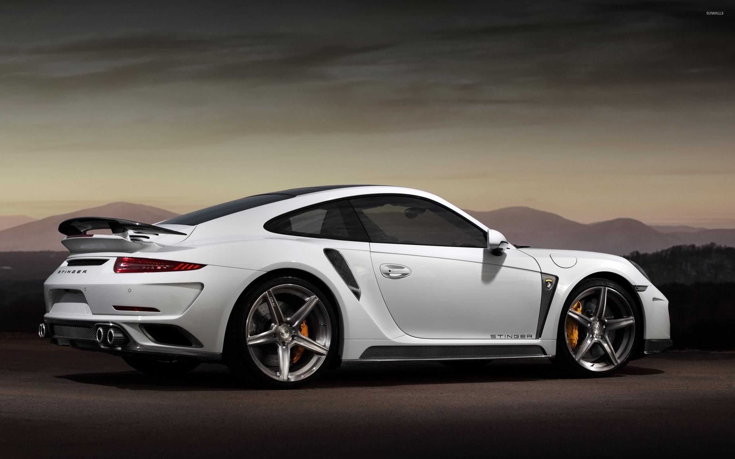 stinger porsche 991 4 wallpaper - 2015 Porsche 911 Turbo Wallpaper