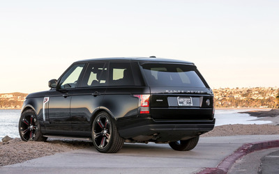 STRUT Land Rover Range Rover back side view wallpaper