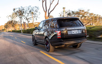 STRUT Land Rover Range Rover on the road back view wallpaper 2560x1600 jpg