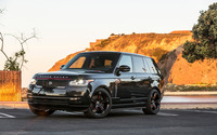 STRUT Land Rover Range Rover parked front view wallpaper 2560x1600 jpg