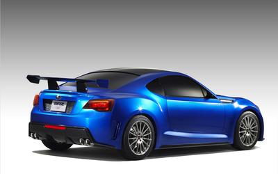 Subaru BRZ Concept STI wallpaper