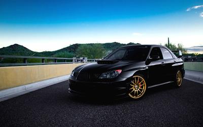 Subaru Impreza WRX wallpaper