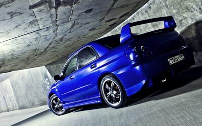 Subaru Impreza WRX [2] wallpaper