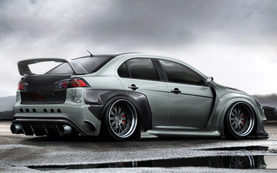 TDW Styling Mitsubishi Lancer Evolution X wallpaper