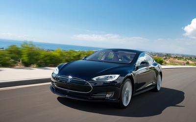Tesla Model S [3] wallpaper