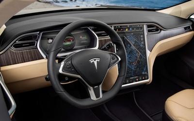 Tesla Model S [4] wallpaper