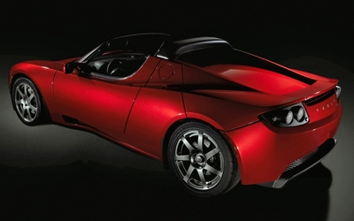 Tesla Roadster [2] wallpaper