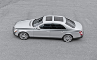 Top view of a 2013 A Kahn Design Maybach 57 S wallpaper 2560x1600 jpg