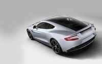 Top view of a 2013 Aston Martin Vanquish wallpaper 1920x1200 jpg