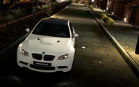 Top view of a BMW M3 coupe wallpaper 1920x1080 jpg