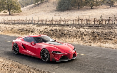 Toyota FT-1 concept [3] wallpaper