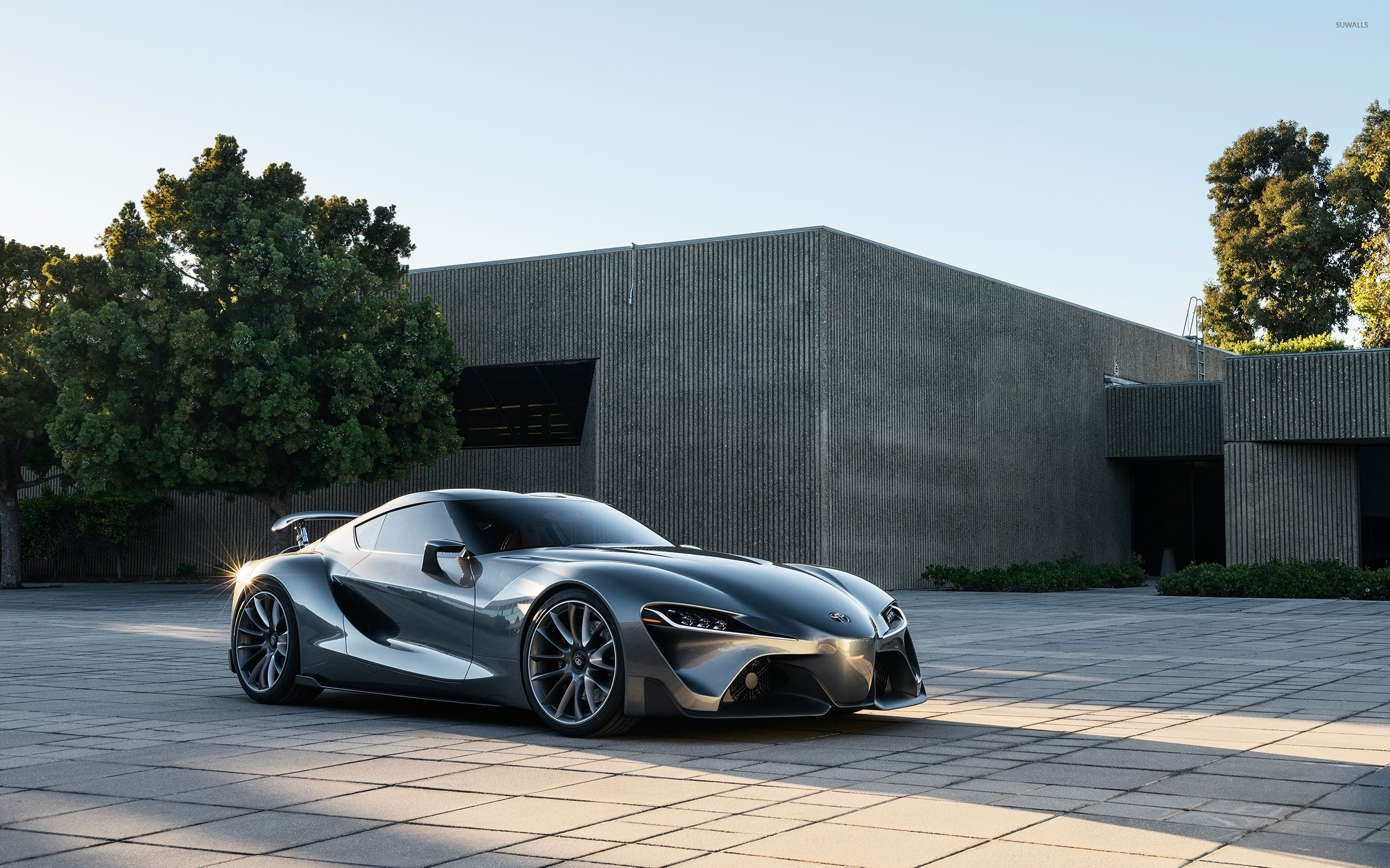 Beau Toyota FT 1 Concept [2] Wallpaper