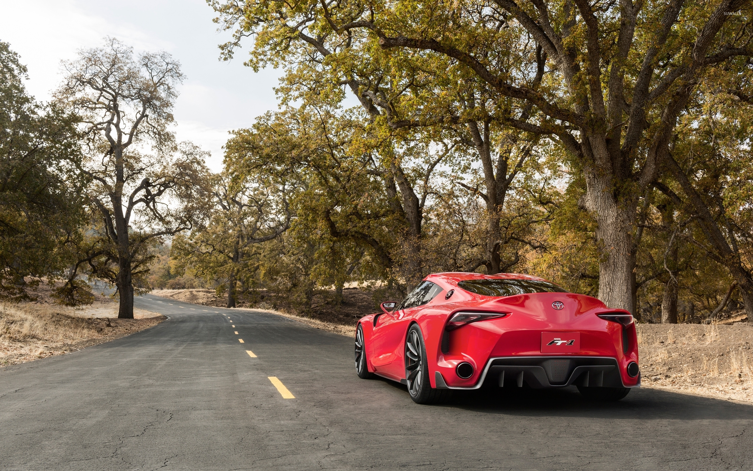 Toyota FT 1 Concept Wallpaper 2560x1600 Jpg