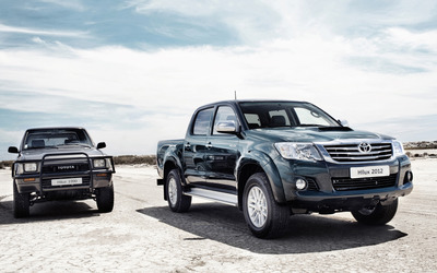 Toyota Hilux [2] wallpaper
