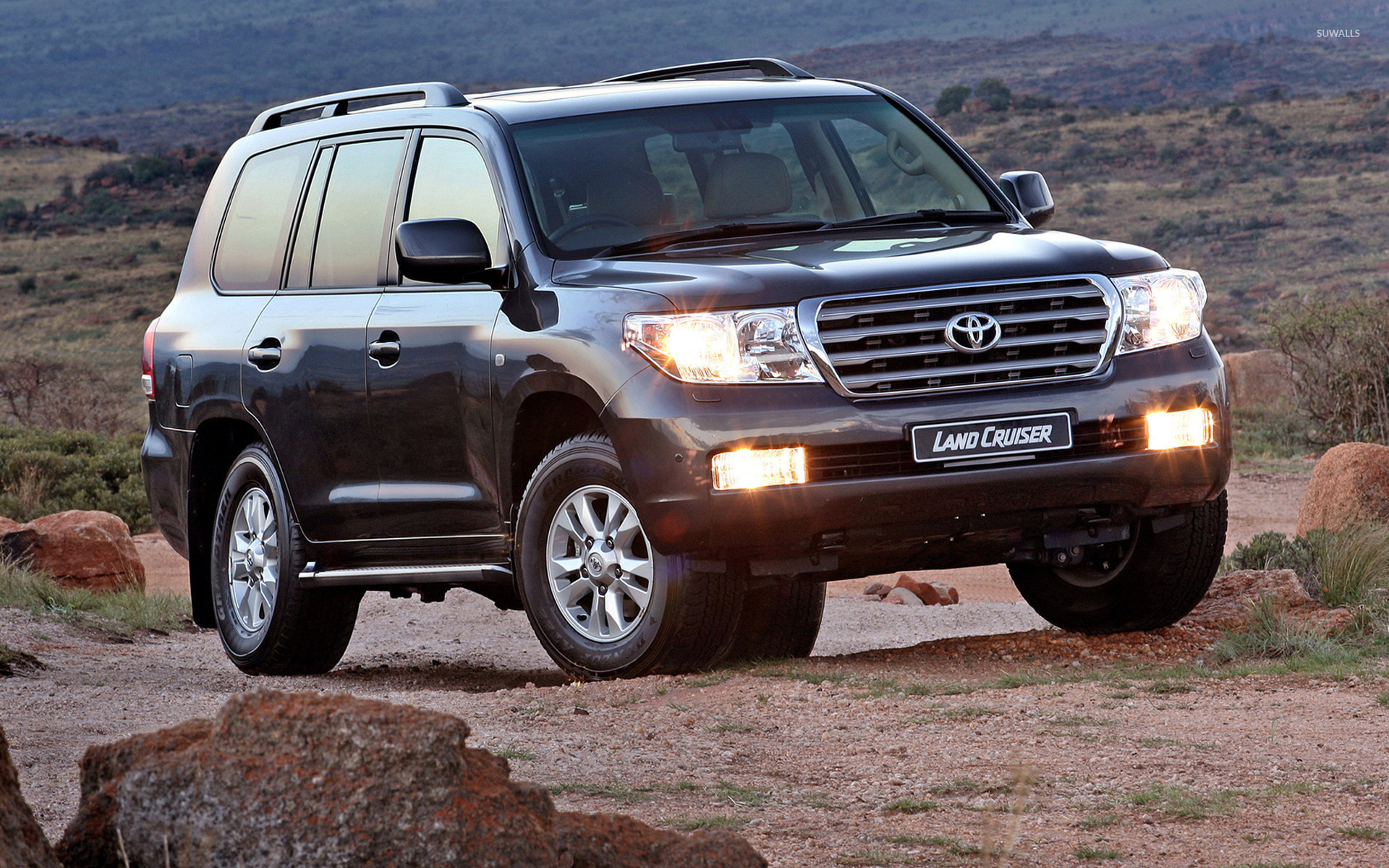 Toyota Land Cruiser [6] Wallpaper 1920x1200 Jpg